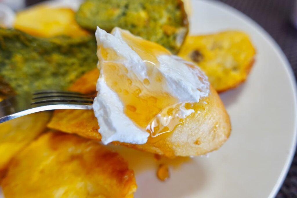ベーカリーレストラン サンマルク多摩南野店の窯焼きフレンチトースト