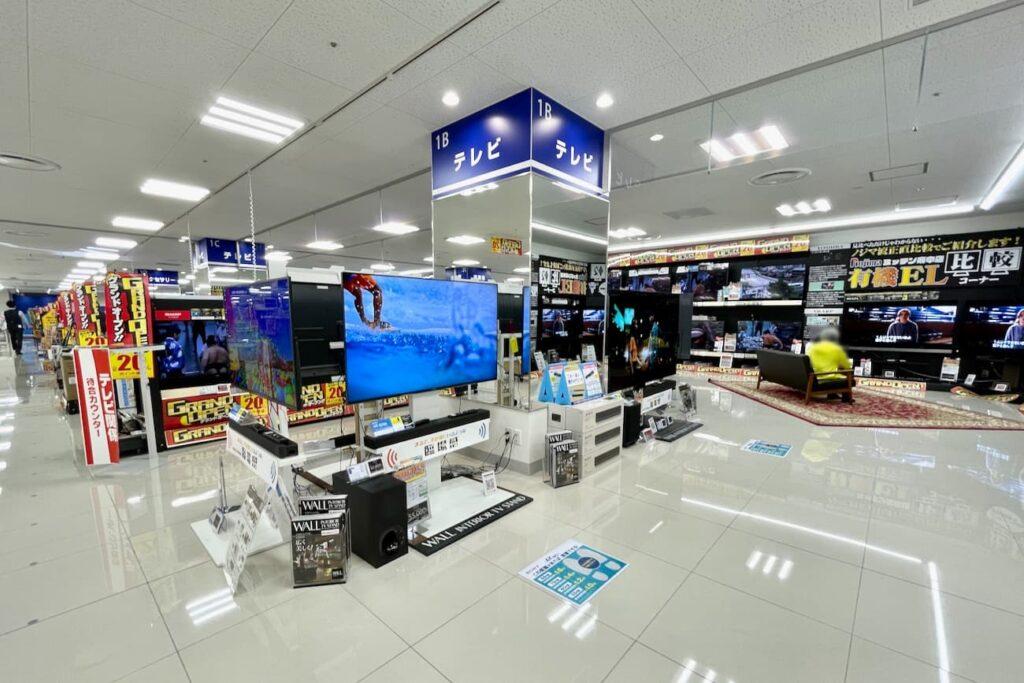 5階 デジタル家電専門店「ノジマ ミッテン府中店」