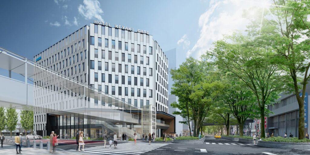 <完成イメージ>CGパース提供:大成建設株式会社一級建築士事務所