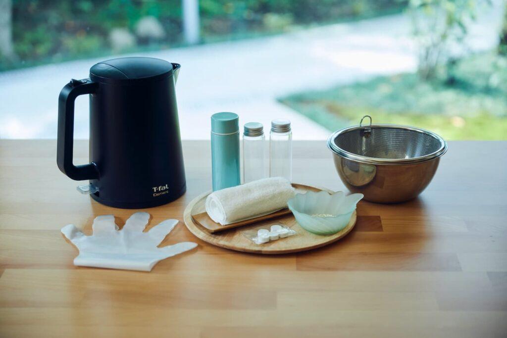 「米麹で生化粧水づくり」体験キット