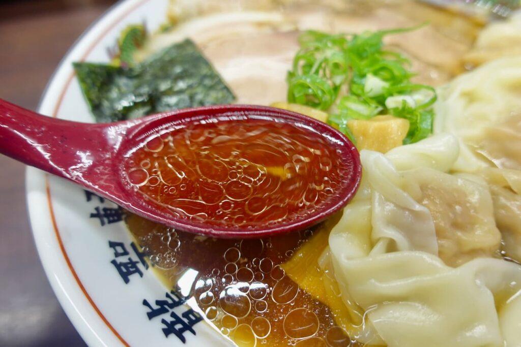 永山龍聖軒「醤油チャーシューワンタン麺」