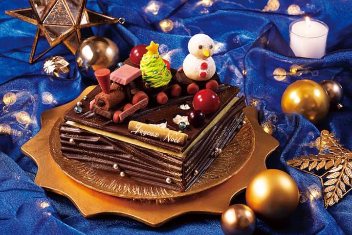 京王プラザホテル多摩クリスマスケーキ2021「聖夜の汽車」