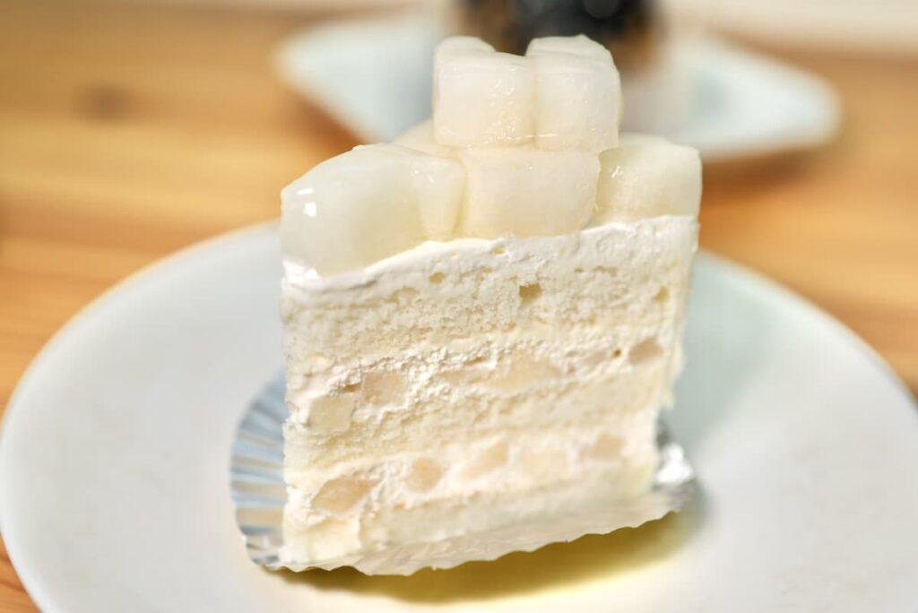 特製 梨ショートケーキ