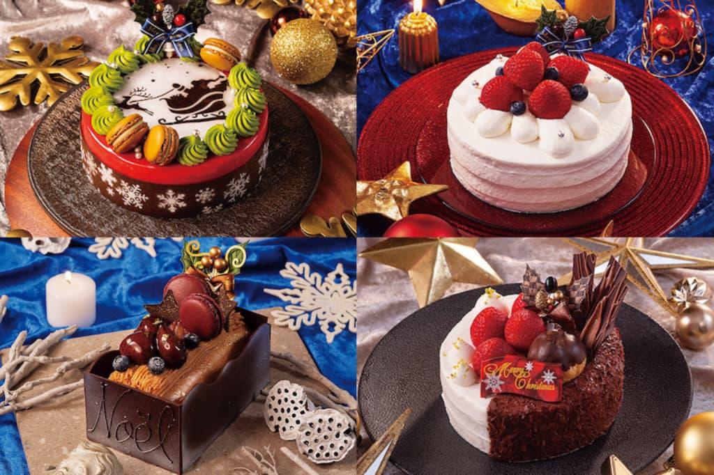 京王プラザホテル多摩クリスマスケーキ2021