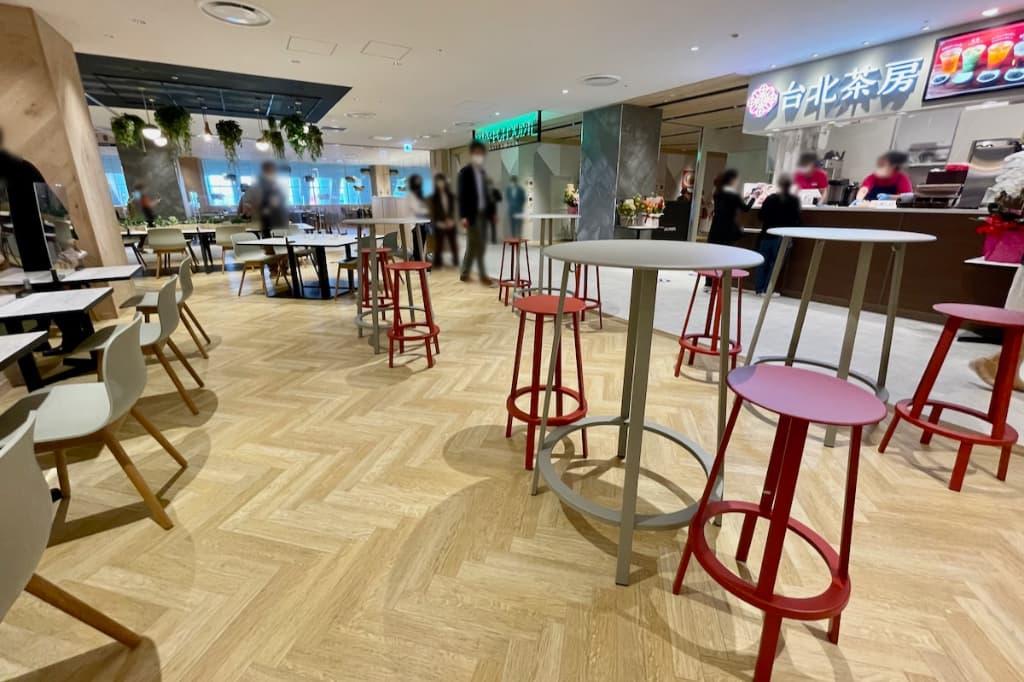 MitteN(ミッテン)府中」9階のレストラン・フードコート
