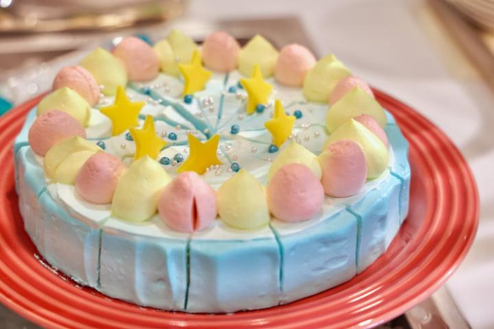 リトルツインスターズのショートケーキ