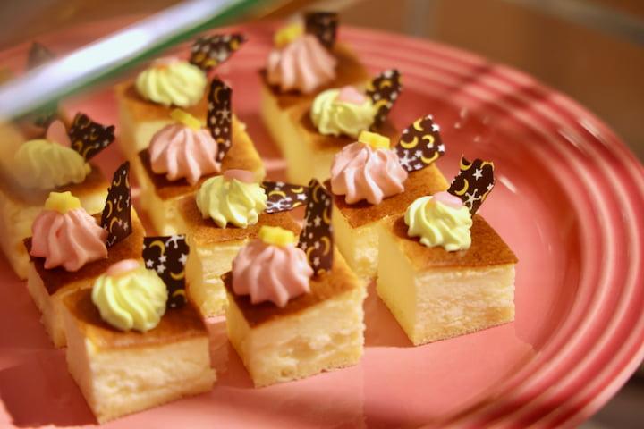 ベイクドスフレチーズケーキ