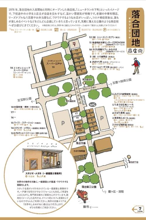 商店街キャラバンマップ