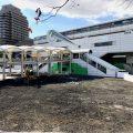 多摩モノレール多摩センター駅前に来年新たな商業施設が誕生